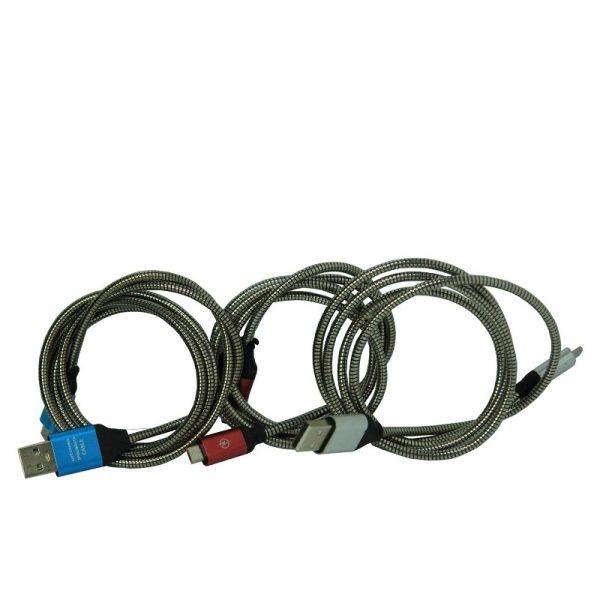 کابل فول فلزی اندروید فست شارژ