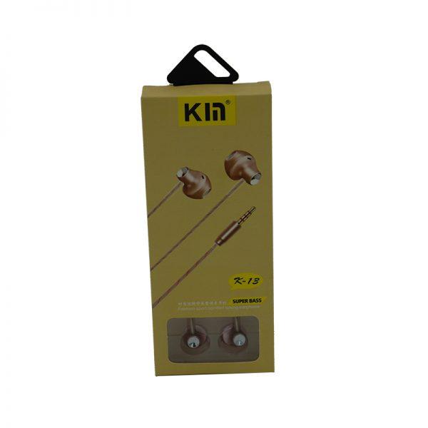 هندزفری KM مدل K13 عمده