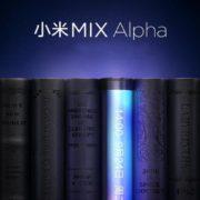 شیائومی Mi Mix Alpha با نمایشگر آبشاری احتمالا بیشترین نسبت صفحه به بدنه را دارد!