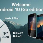 گوشیهای نوکیا سال آینده نسخه Go اندروید ۱۰ را دریافت میکنند!