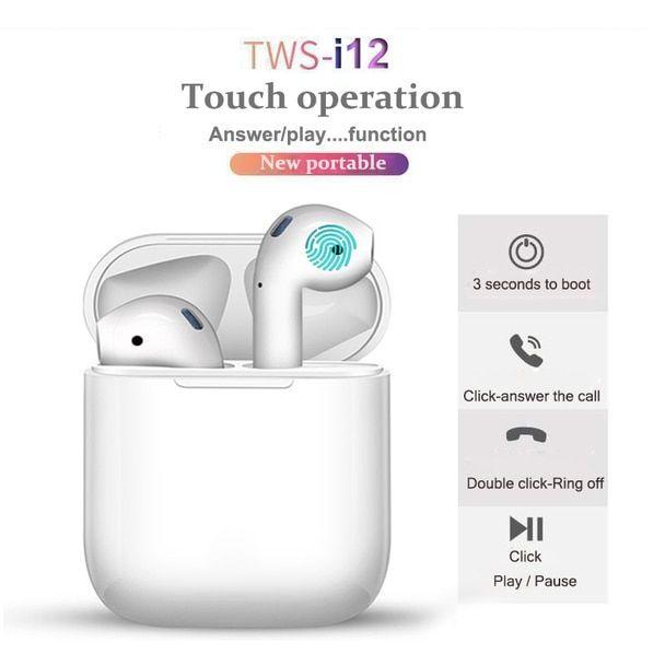 هدفون بی سیم i12 - TWS