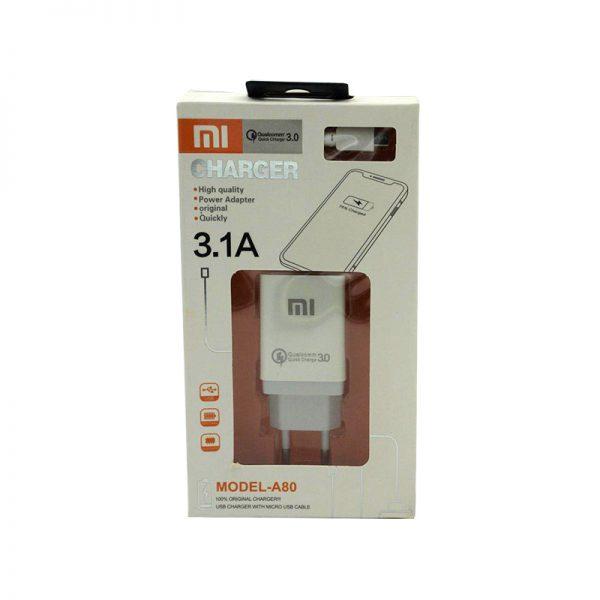 شارژر MI مدل A80 اصل چین فروش عمده