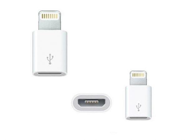 فروش عمده مبدل Micro USB به Lightning