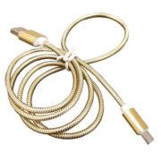 کابل فست شارژ Type-c فلزی یک متری بدون پک فروش عمده
