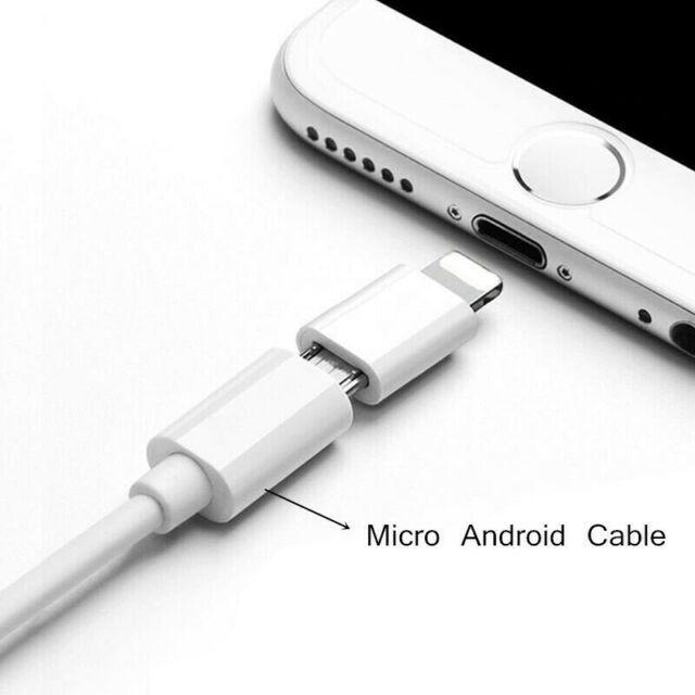 مبدل پورت میکرو USB به لایتنینگ فروش عمده