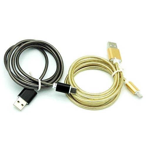 کابل type-C فست شارژ فلزی