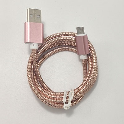 کابل فست شارژ micro usb فلزی