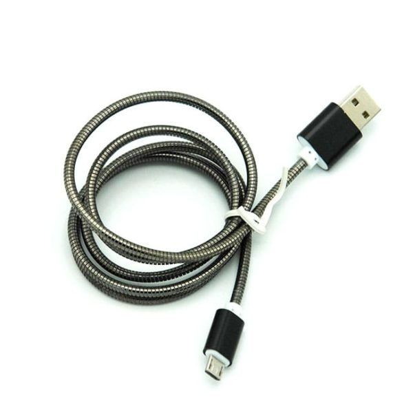 کابل فست شارژ Micro usb فلزی عمده