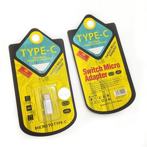 تبدیل Micro به TYPE-C ارلدام مدل ET-TC01