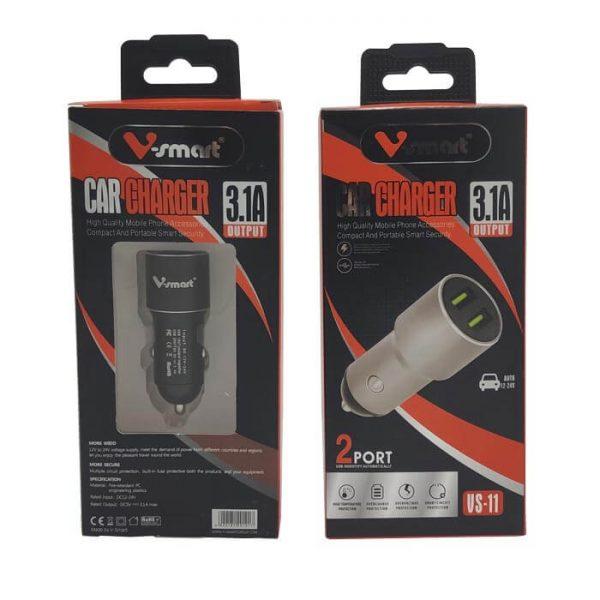 فندکی دو پورت V-Smart مدل VS-11
