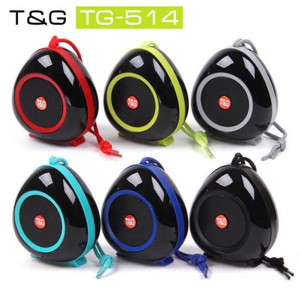 اسپیکر بلوتوث T&G مدل TG514 | آفر پخش - مرکز پخش عمده لوازم جانبی موبایل