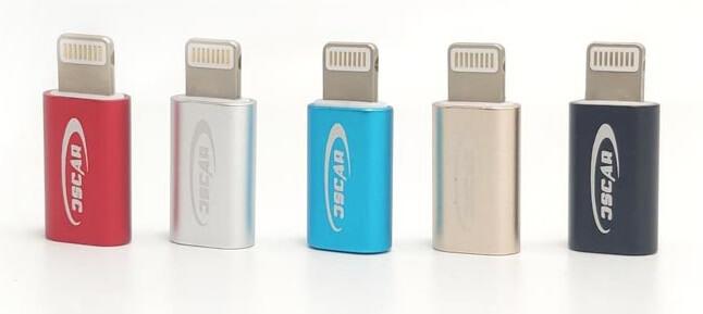 تبدیل میکرو USB به لایتنیگ OSCAR مدل OS-TG04
