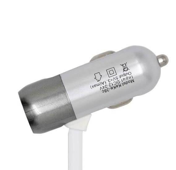 قیمت عمده شارژر فندکی MICRO مدل USBX1
