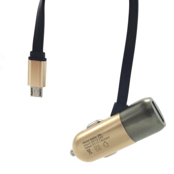 شارژر فندکی MICRO مدل USBX1 عمده