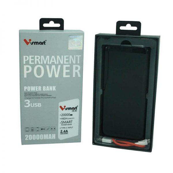 پاوربانک 20 هزار V-Smart مدل VS-53