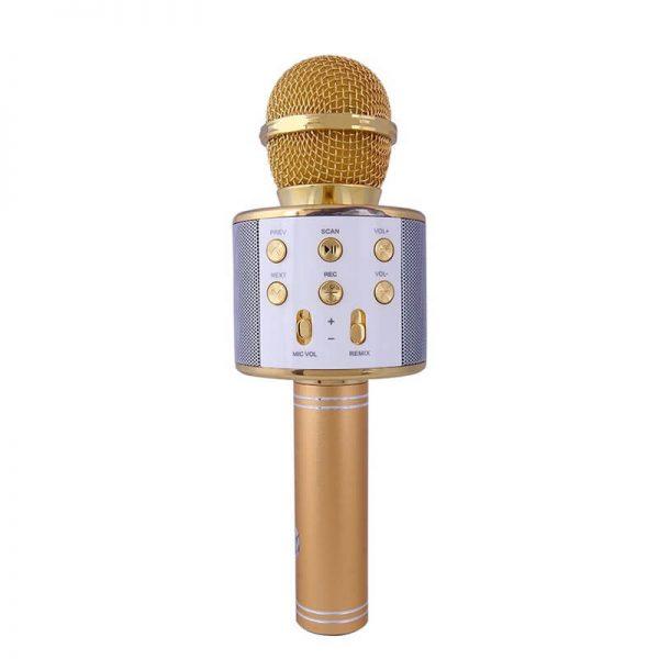 میکروفون KTV WS-858 طلایی