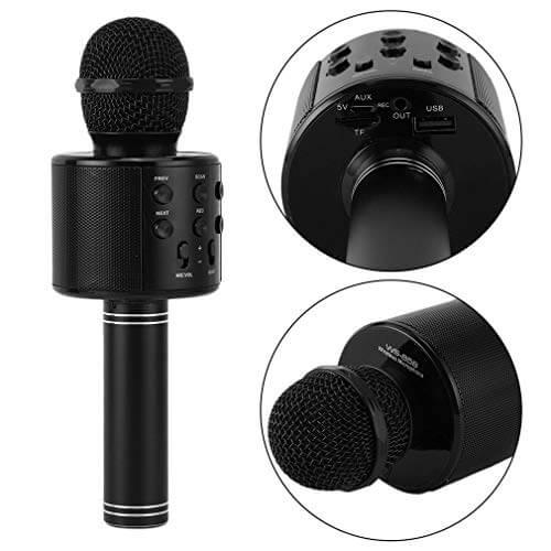 میکروفون KTV WS-858 مشکی