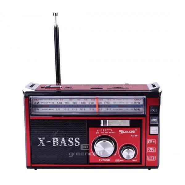 اسپیکر رادیو GOLON مدل RX-381BT عمده