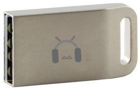 دانگل بلوتوث USB فلزی نقره ای