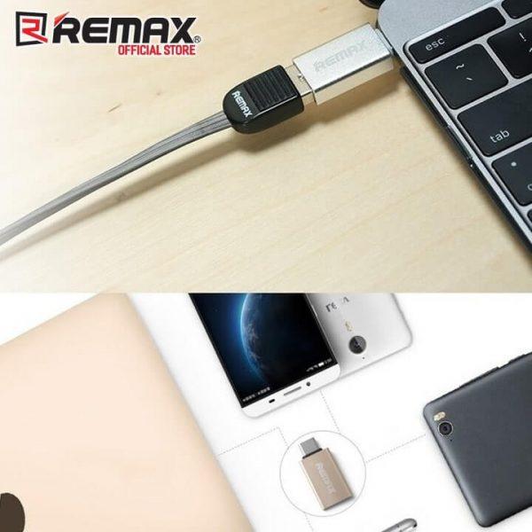 رابط OTG تایپ سی REMAX فلزی عمده