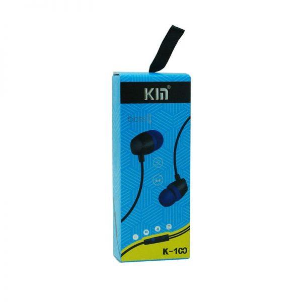 هندزفری Kin مدل K-100 آبی
