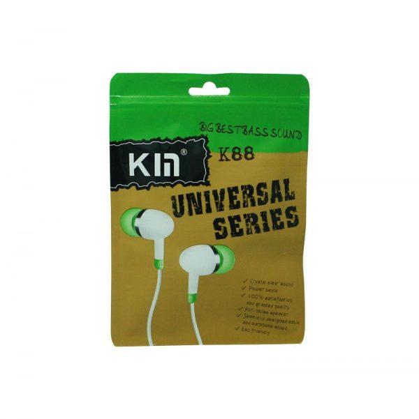 هندزفری Kin مدل K88 سبز