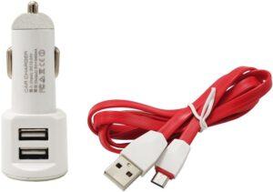 شارژر فندکی LDNIO مدل DL-C29 با کابل Micro USB