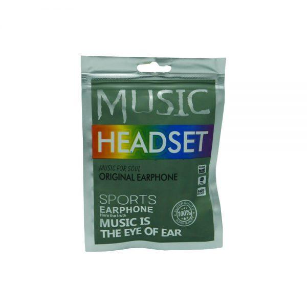 هندزفری میکروفون دار مدل HEADSET