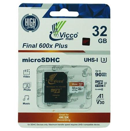 کارت حافظه 32 گیگابایت VICCO با خشاب