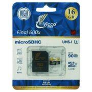 کارت حافظه 16 گیگابایت VICCO با خشاب