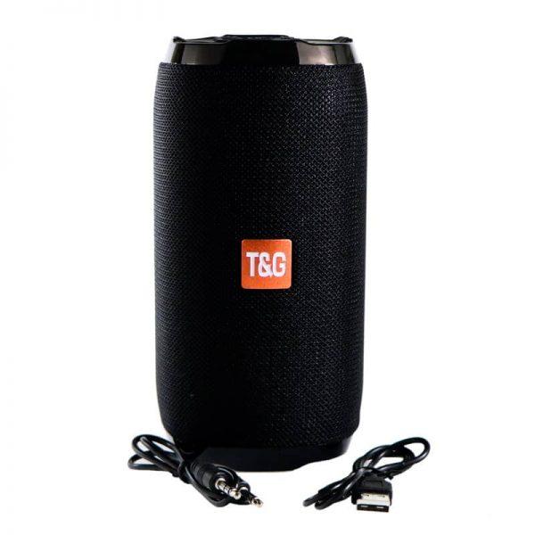 اسپیکر بلوتوث T&G مدل TG-152 همراه با کابل شارژ و Aux