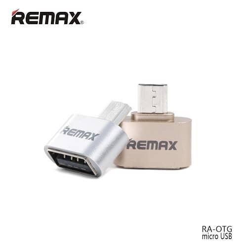 رابط OTG میکرو Remax پک 10 عددی سوکت بلند