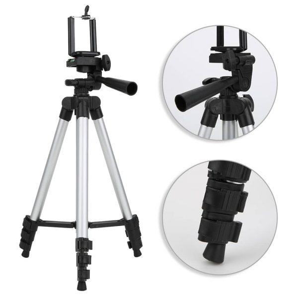 سه پایه نگهدارنده موبایل و دوربین TRIPOD مدل 3110 آلومینیومی