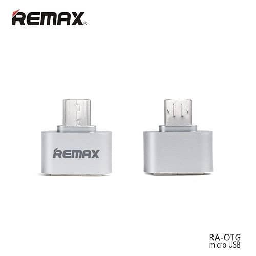 رابط OTG میکرو Remax پک 10 عددی فلزی