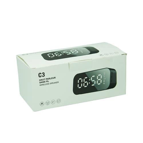اسپیکر و ساعت رومیزی Miniso مدل C3