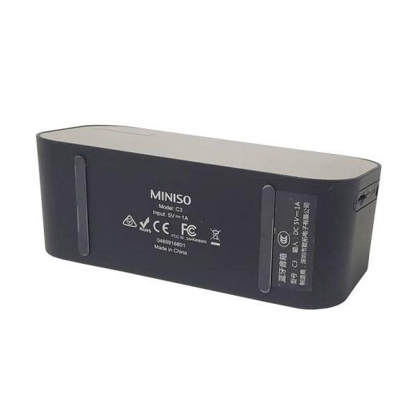 اسپیکر و ساعت رومیزی Miniso مدل C3 آلارم دار