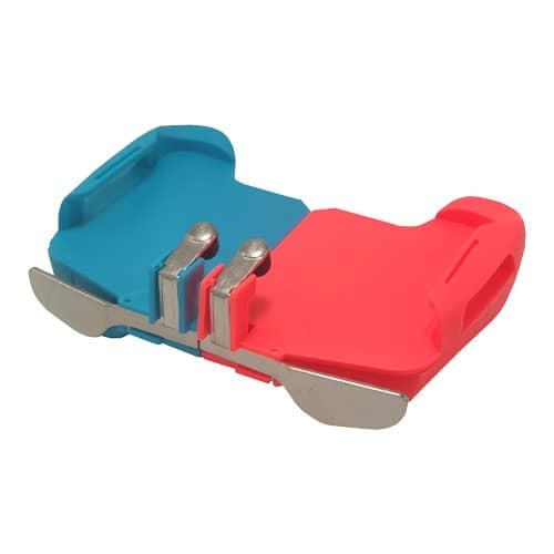 دسته موبایل بازی PUBG و CALL OF DUTY مدل AK16 آبی قرمز