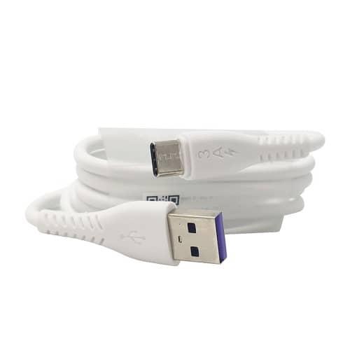کابل TYPE-C فست شارژ اورجینال ویتنام سفید