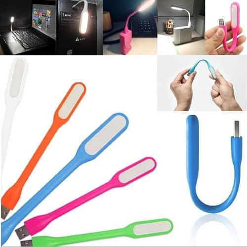 چراغ LED USB مسواکی عمده