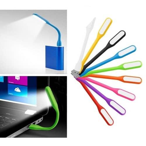 چراغ LED USB مسواکی رنگی