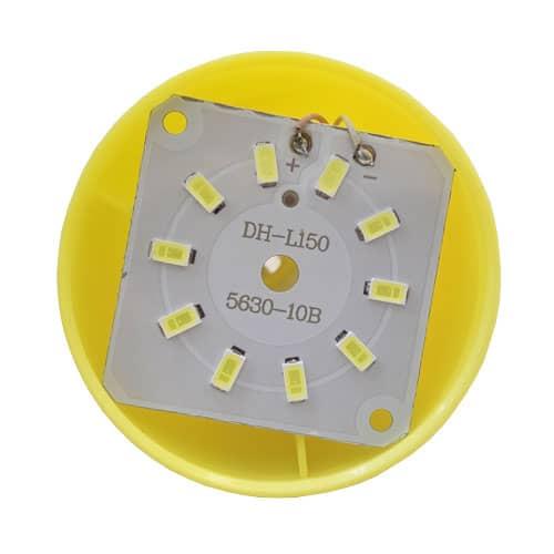 لامپ LED دوکاره USB و میکرو 10 چراغه