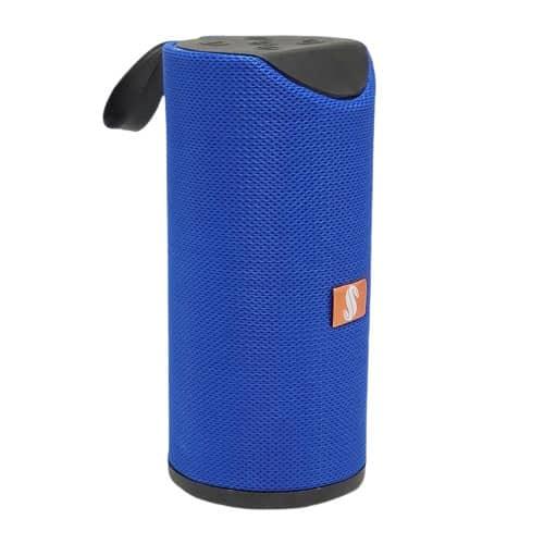 اسپیکر بلوتوث مدل 113 دو باند رنگ آبی