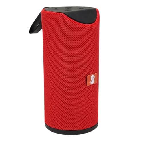 اسپیکر بلوتوث مدل 113 دو باند رنگ قرمز