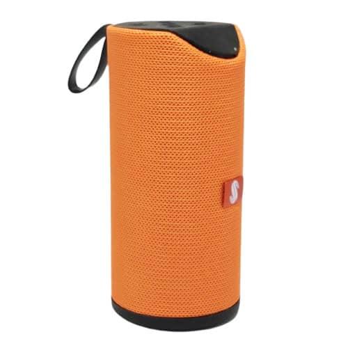 اسپیکر بلوتوث مدل 113 دو باند رنگ نارنجی