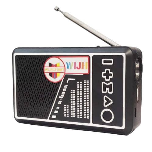 اسپیکر رادیو WIJH سفید