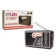 اسپیکر رادیو WIJH مدل 318BT
