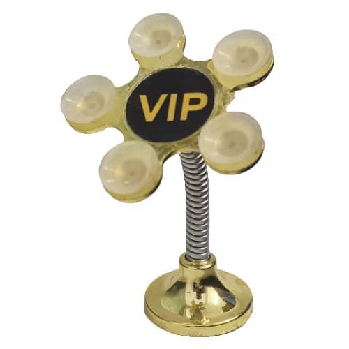 نگهدارنده موبایل مکشی VIP طلایی