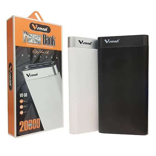 پاوربانک 20000 برند V-Smart مدل VS-58