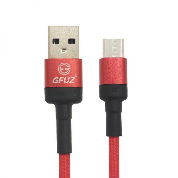 کابل Micro USB مدل GFUZ CA-85 قرمز