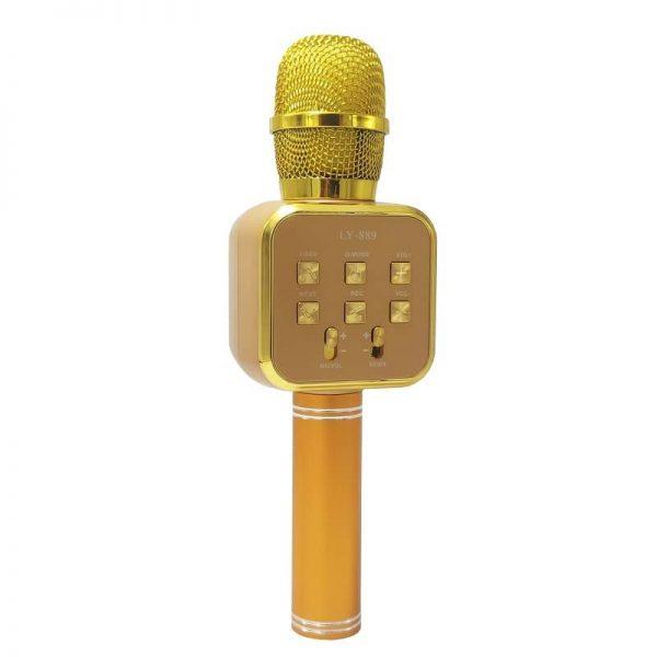 اسپیکر میکروفون مدل LY-889 طلایی